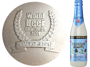 Delirium Tremens - 2014 - World Beer Challenge - Estoril Portugal