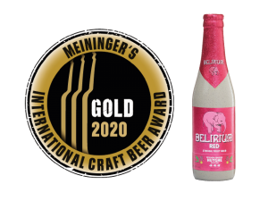 MEININGERS INTERNATIONAL CRAFT BEER AWARD 2020 delirium red